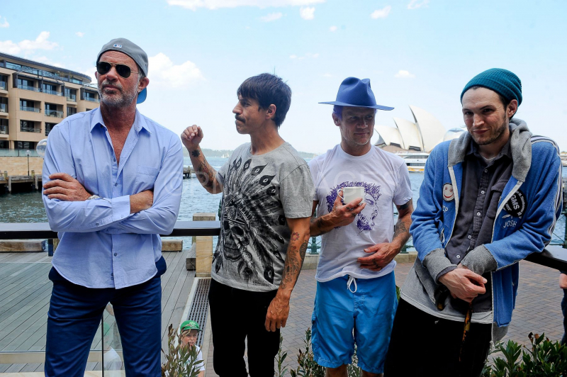 Flea-Anthony-Kiedis- Chad-Smith-Josh Klinghoffer